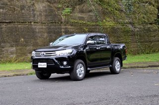 Toyota Hilux Mid Spec Black Manual.