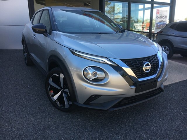 New Nissan Juke F16 ST-L DCT 2WD South Gladstone, 2020 Nissan Juke F16 ST-L DCT 2WD Silver 7 Speed Sports Automatic Dual Clutch Hatchback