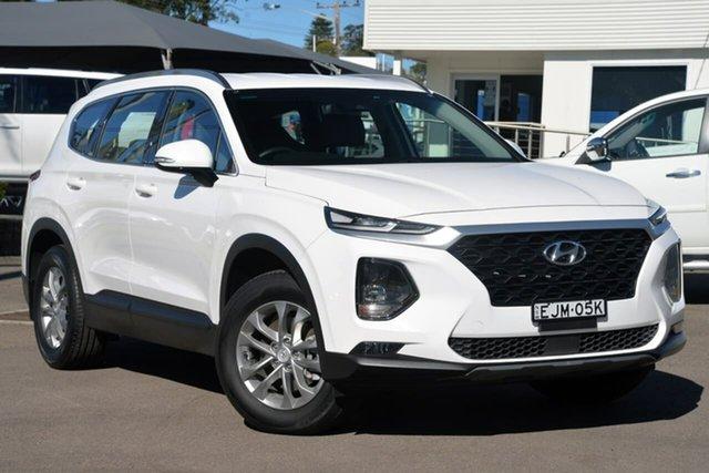 Used Hyundai Santa Fe TM MY19 Active, 2019 Hyundai Santa Fe TM MY19 Active White 8 Speed Sports Automatic Wagon