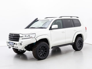 2020 Toyota Landcruiser VDJ200R LC200 GXL (4x4) White 6 Speed Automatic Wagon.