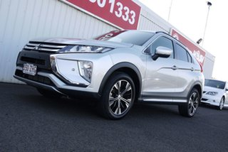 2018 Mitsubishi Eclipse Cross YA MY19 LS 2WD Silver 8 Speed Constant Variable Wagon.