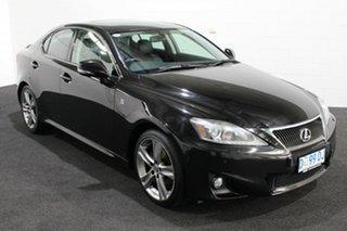 2013 Lexus IS GSE20R MY13 IS250 X Black 6 Speed Sports Automatic Sedan.