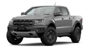 2020 Ford Ranger PX MkIII 2020.75MY Raptor Conquer Grey 10 Speed Sports Automatic Double Cab Pick Up.