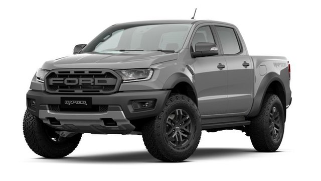 New Ford Ranger PX MkIII MY21.25 Raptor 2.0 (4x4) Dandenong, 2021 Ford Ranger PX MkIII MY21.25 Raptor 2.0 (4x4) Conquer Grey 10 Speed Automatic