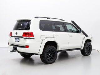 2020 Toyota Landcruiser VDJ200R LC200 GXL (4x4) White 6 Speed Automatic Wagon