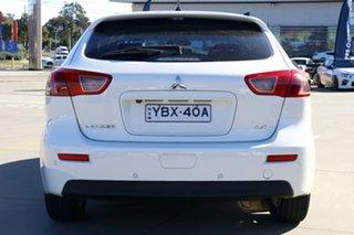 2013 Mitsubishi Lancer CJ MY13 LX Sportback White 5 Speed Manual Hatchback