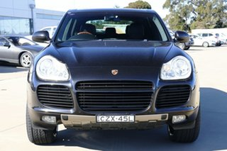2003 Porsche Cayenne 9PA Turbo Black 6 Speed Sports Automatic Wagon