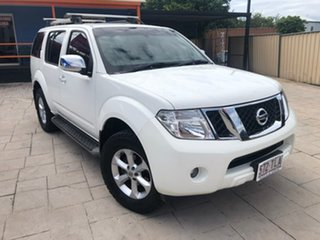 2012 Nissan Pathfinder R51 MY10 ST-L White 5 Speed Sports Automatic Wagon.