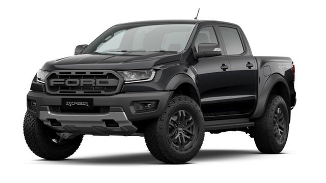 New Ford Ranger PX MkIII 2020.75MY Raptor, 2020 Ford Ranger PX MkIII 2020.75MY Raptor Shadow Black 10 Speed Sports Automatic Double Cab Pick Up