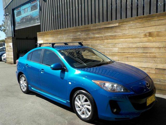 Used Mazda 3 BL10F2 MY13 Maxx Activematic Sport, 2013 Mazda 3 BL10F2 MY13 Maxx Activematic Sport Blue 5 Speed Sports Automatic Sedan