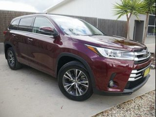 2018 Toyota Kluger GSU50R MY18 GX (4x2) Deep Red 8 Speed Automatic Wagon.