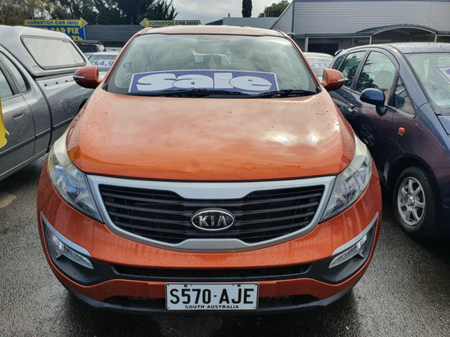 Used Kia Sportage KM2 MY10 EX, 2010 Kia Sportage KM2 MY10 EX Gold 4 Speed Automatic Wagon