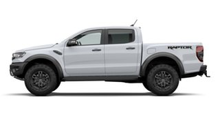 2020 Ford Ranger PX MkIII 2021.25MY Raptor Arctic White 10 Speed Sports Automatic Double Cab Pick Up