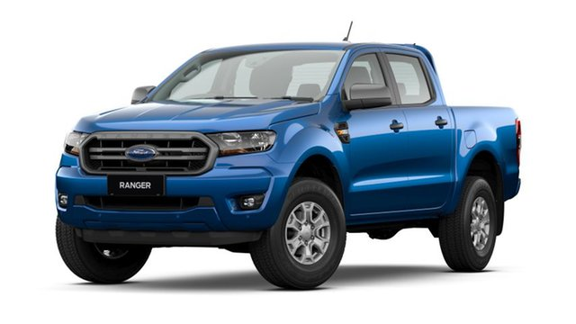 New Ford Ranger PX MkIII 2021.25MY XLS Homebush, 2021 Ford Ranger PX MkIII 2021.25MY XLS Blue Lightning 6 Speed Sports Automatic Double Cab Pick Up