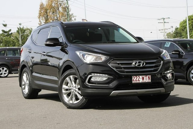 Used Hyundai Santa Fe DM3 MY16 Elite, 2016 Hyundai Santa Fe DM3 MY16 Elite Black 6 Speed Sports Automatic Wagon