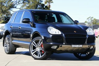 2003 Porsche Cayenne 9PA Turbo Black 6 Speed Sports Automatic Wagon.