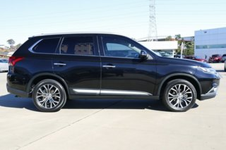 2016 Mitsubishi Outlander ZK MY17 Exceed 4WD Black 6 Speed Constant Variable Wagon