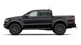 2020 Ford Ranger PX MkIII 2021.25MY Raptor Shadow Black 10 Speed Sports Automatic Double Cab Pick Up.