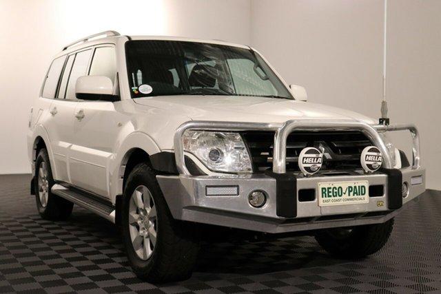 Used Mitsubishi Pajero NT MY10 Activ, 2010 Mitsubishi Pajero NT MY10 Activ White 5 speed Automatic Wagon
