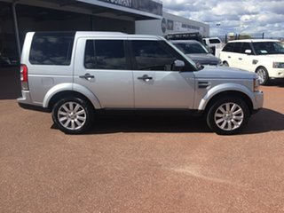 2012 Land Rover Discovery 4 MY12 3.0 SDV6 HSE Silver 6 Speed Automatic Wagon.