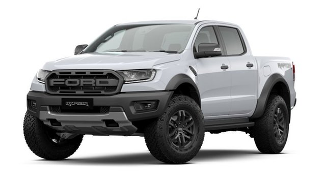New Ford Ranger PX MkIII 2020.75MY Raptor Kingswood, 2020 Ford Ranger PX MkIII 2020.75MY Raptor Arctic White 10 Speed Sports Automatic Double Cab Pick Up