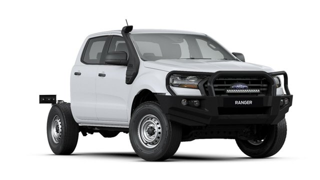 New Ford Ranger PX MkIII 2020.75MY XL, 2020 Ford Ranger PX MkIII 2020.75MY XL Arctic White 6 Speed Sports Automatic Double Cab Chassis