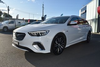 2019 Holden Commodore ZB MY19.5 RS Sportwagon White 9 Speed Sports Automatic Wagon