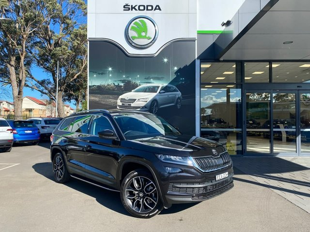 Used Skoda Kodiaq NS MY19 132TSI DSG, 2019 Skoda Kodiaq NS MY19 132TSI DSG Black 7 Speed Sports Automatic Dual Clutch Wagon