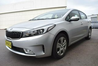 2017 Kia Cerato YD MY17 S Silver 6 Speed Sports Automatic Hatchback.
