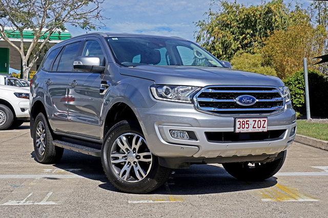 Used Ford Everest UA II 2019.00MY Trend, 2019 Ford Everest UA II 2019.00MY Trend Aluminium 10 Speed Sports Automatic SUV