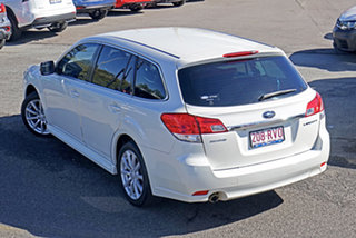 2011 Subaru Liberty B5 MY11 2.5i Lineartronic AWD White 6 Speed Constant Variable Wagon.