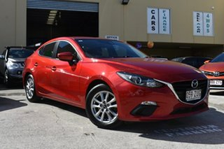 2014 Mazda 3 BL Series 2 MY13 SP20 Skyactiv Luxury Red 6 Speed Automatic Sedan