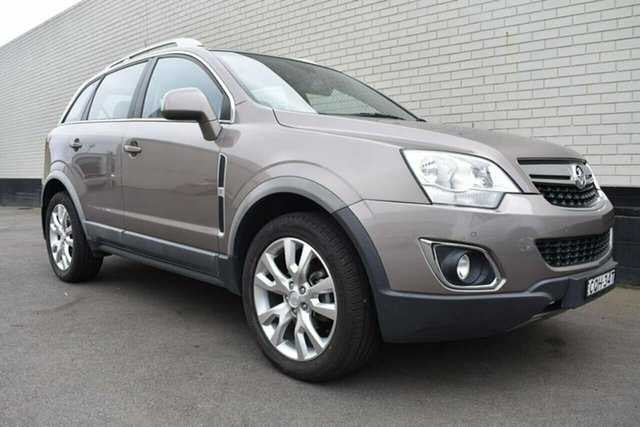 Used Holden Captiva CG MY13 5 LTZ, 2013 Holden Captiva CG MY13 5 LTZ Gold 6 Speed Sports Automatic Wagon