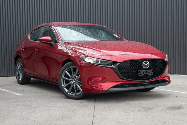 New Mazda 3 BP2H7A G20 SKYACTIV-Drive Evolve, 2020 Mazda 3 BP2H7A G20 SKYACTIV-Drive Evolve Soul Red Crystal 6 Speed Sports Automatic Hatchback