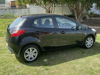 2011 Mazda 2 DE10Y1 MY10 Genki Black 5 Speed Manual Hatchback.