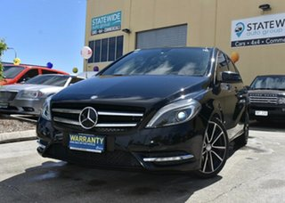 2013 Mercedes-Benz B200 246 MY13 CDI BE Black 7 Speed Auto Direct Shift Hatchback