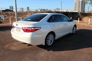 2016 Toyota Camry AVV50R Hybrid Crystal Pearl 1 Speed Automatic Sedan