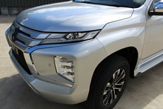 2020 Mitsubishi Pajero Sport QF MY20 Exceed Sterling Silver 8 Speed Sports Automatic Wagon.