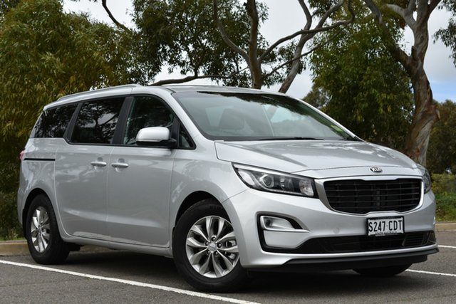 Demo Kia Carnival YP MY20 SI, 2020 Kia Carnival YP MY20 SI Silky Silver 8 Speed Sports Automatic Wagon