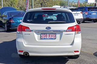2011 Subaru Liberty B5 MY11 2.5i Lineartronic AWD White 6 Speed Constant Variable Wagon