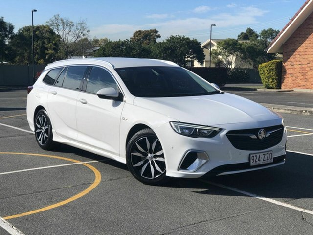 Used Holden Commodore ZB MY18 RS Sportwagon, 2018 Holden Commodore ZB MY18 RS Sportwagon White 9 Speed Sports Automatic Wagon