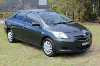 2007 Toyota Yaris NCP93R YRS Grey 4 Speed Automatic Sedan.