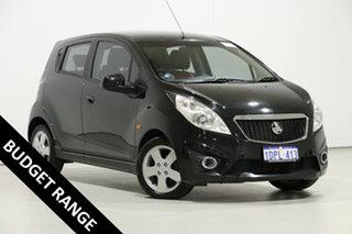 2011 Holden Barina Spark MJ Update CDX Black 5 Speed Manual Hatchback.