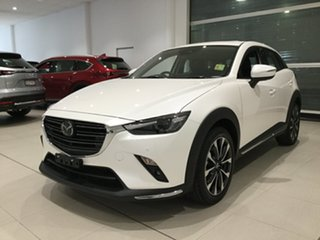 2019 Mazda CX-3 DK4WSA Akari SKYACTIV-Drive i-ACTIV AWD Snowflake White 6 Speed Sports Automatic