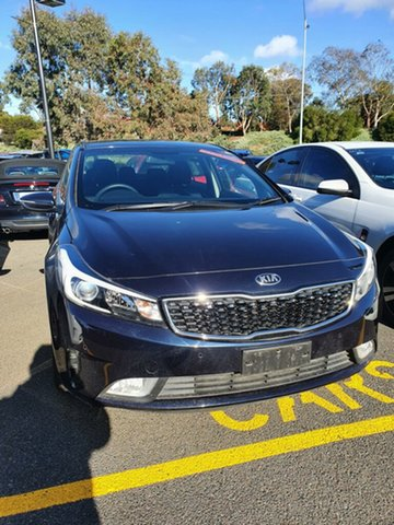 Used Kia Cerato YD MY18 S, 2018 Kia Cerato YD MY18 S Blue 6 Speed Sports Automatic Sedan