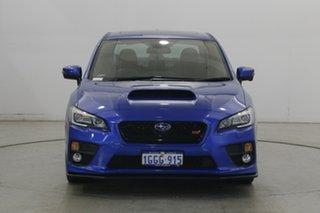 2017 Subaru WRX V1 MY17 STI AWD Premium Blue 6 Speed Manual Sedan.