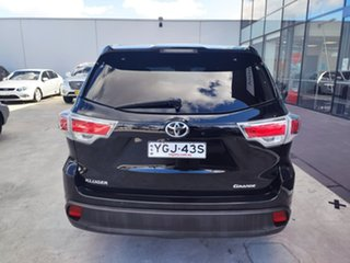 2016 Toyota Kluger GSU50R Grande 2WD Black 8 Speed Sports Automatic Wagon