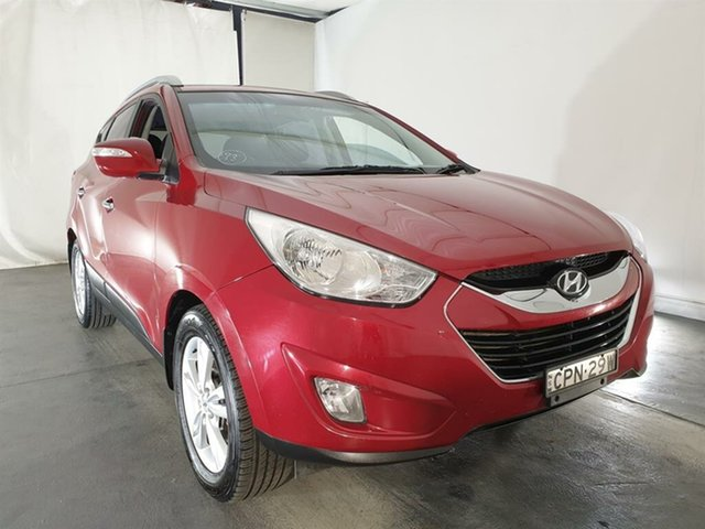 Used Hyundai ix35 LM2 Elite AWD, 2013 Hyundai ix35 LM2 Elite AWD Red 6 Speed Sports Automatic Wagon