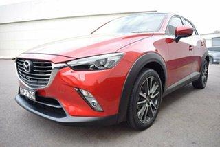 2017 Mazda CX-3 DK2W7A sTouring SKYACTIV-Drive Red 6 Speed Sports Automatic Wagon.