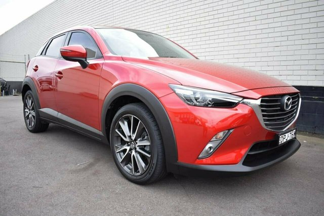 Used Mazda CX-3 DK2W7A sTouring SKYACTIV-Drive, 2017 Mazda CX-3 DK2W7A sTouring SKYACTIV-Drive Red 6 Speed Sports Automatic Wagon